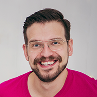 Kevin Smith, Spruce's web engineer